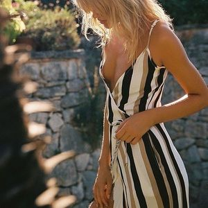 NWT Faithfull The Brand Charlee Wrap Dress